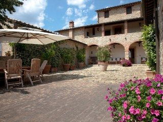 Luxury Villa on the Arceno Chianti Estate - Olive Grove, Pool, A/C, Sleeps 6-10