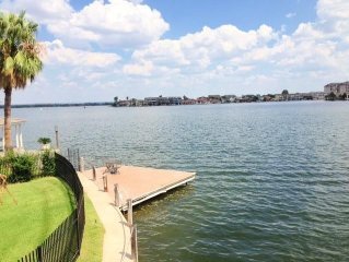 Horseshoe Bay Texas Waterfront 4 BD/3.5 BA In Semi-Private Cove - Great Views