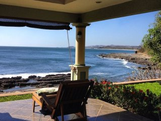 3BR/3Bath BEACHFRONT at Playa Rosada!!!  It doesn't get any better than this