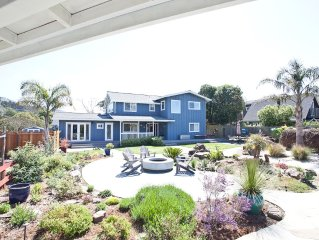 Completely Updated & Utterly Peaceful Stinson Beach Retreat