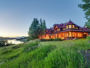 Private Estate in Wildcat Ranch 5 Minutes from Snowmass Skiing
