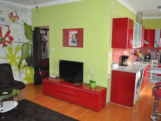 Sunny Spacious Condo in town centre, Close To Transport, Fun And Tourism.