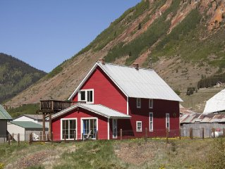 Animas River House - Cozy Historic Riverfront Home 4 Blocks To Downtown!