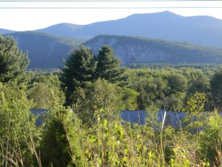 North Conway, Intervale Scenic Lookout with Panoramic Views