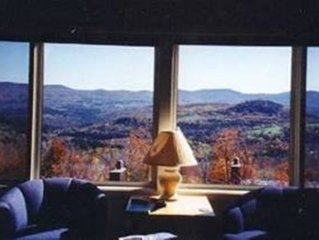 One of Sugarbush's Finest Views!  Seasonal rental possible