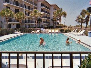 2 Br. 2 Bth. Oceanfront Condo in Daytona Beach Ar