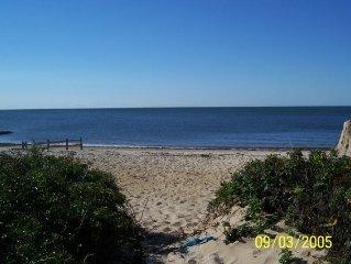 Dennisport Ocean Winds Oceanview/front  Cape Cod Studio Condo w/private beach