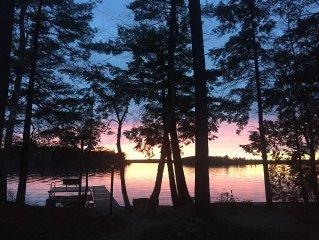 Enjoy The Last Summer Sunsets At This Long Lake Gem ~ Amazing Views!