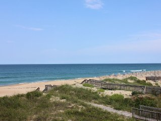 WE ARE OPEN! Pierview 201 - Great Views!! Updated 2 BR Oceanfront Condo