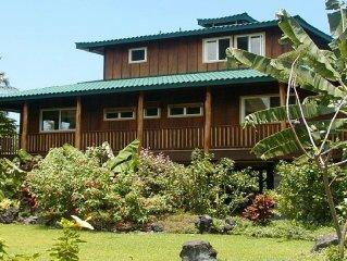 A Beautiful Home w/Ocean Views--Walk to Manini Beach! Enjoy Hawaiian Culture!