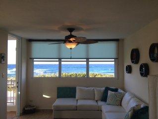 Spectacular Oceanfront Apartment: a Hidden Paradise!