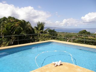 Heaven on Earth, 180 degree OCEAN Views/Private Swimming POOL, Close to beach