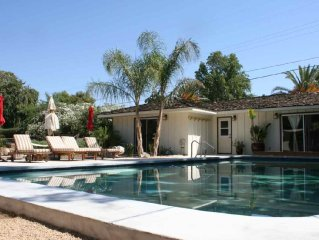 Steps Away From The Five-Diamond Ojai Valley Inn and Spa - 30 day min. rental