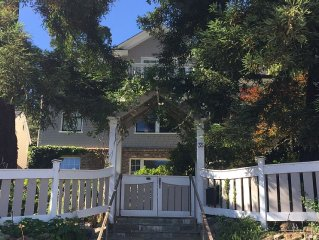 Private Room/Bath Steps To Downtown Mill Valley With Own Entrance