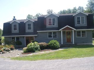 Spacious Bucolic Retreat with Pool in Hills of Columbia Co. 15min from Hudson