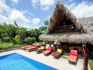 Stunning & Fully-Equipped Beach Pad - 5 BR Suites, Pool & 4 Minute Walk to Beach