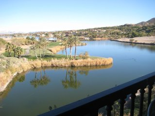 Relaxing,Affordable,Lake Las Vegas Studio, Lake View Kitchenette, Balcony