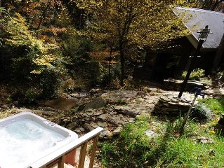 Creekside Cabin - Tranquil Elegance,  Secluded & Romantic  - Just for Two