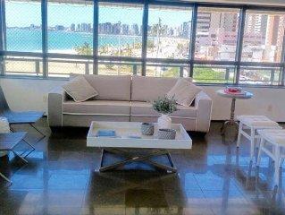 Luxury apartment sea front best location of Fortaleza, area 300m2