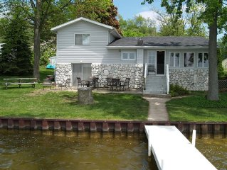 5 Bedroom Home with 100 Feet of Sandy-Bottom Frontage on All-Sport Palmer Lake!