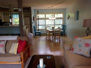 2 Bedroom Condo In Walking Distance to Beach