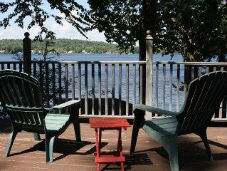Adirondack Lake House- fish, swim, bike, hike, paddle.....Relax