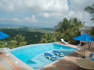 Home-Away-From-Home with Spectacular Pool and Panoramic Views of