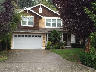 Large Downtown Bellevue Home--Great for Family Gatherings or Business Meetings!