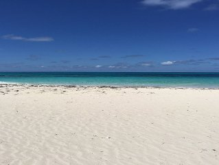 Stunning Beach, Reef, and Home on Private South End of Great Guana Cay