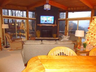 View home at the top of Schuss Mountain!! Book now for ski season!
