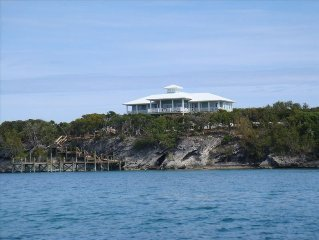 New Luxury Water Front Cottage with Private Dock on Sea of Abaco