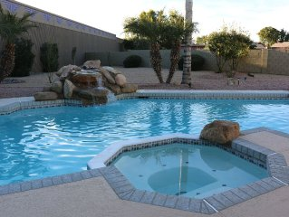 Heated Pool & Spa - Private, Huge Yard - Great Location - 3 BR, 2 BA