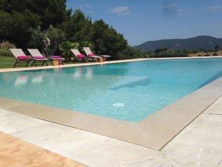 Espectacular casa con piscina en Mallorca para 9 personas
