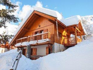 Superb Ski Chalet In Alpe D'Huez / Oz-En-Oisans R