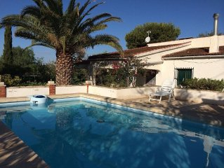 Secluded villa, private pool, beaches,  views, Bonalba golf