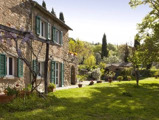 Go Green and Experience a Comfortable Organic Tuscan Farm with Private Pool