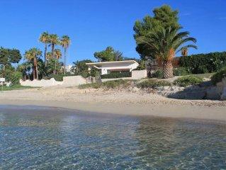 Villa sulla spiaggia ACCESSO DIRETTO AL MARE Fontane Bianche