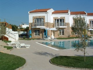 Villa with Shared Pool, Sea and Mountain Views