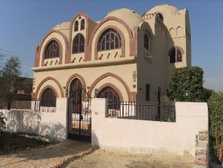 A Stunning New 5 Bedroom 5 Bathroom Villa On The West Bank Of The Nile