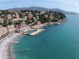 35 meters from the sea,new,2 air conditioned,wood, Santa Margherita Ligure