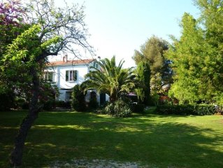 Large villa on the seafront, Var