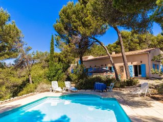 Villa in the South of France countryside