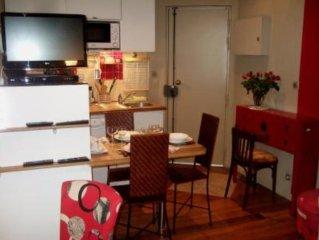 Adorabile appartamentino centrale bene arredato,  confortevole e superattrezzato