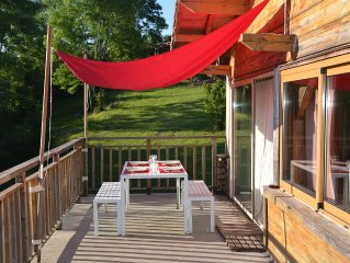 CHALET AUTHENTIC LOG ******* € / WEEK