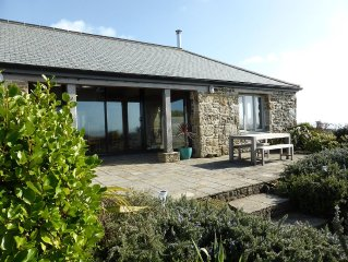 An Old Carthouse with breathtaking views of the Cornish coastline