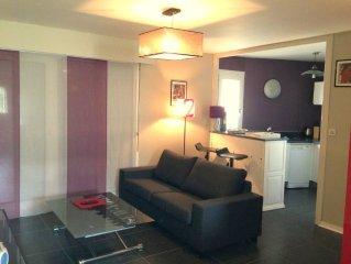 duplex 3 etoiles tres lumineux dans petite residence