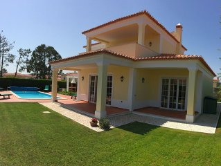 Luxury 3 Bedroom Villa - Praia Del Rey With Large Private Heated Pool Near Beach
