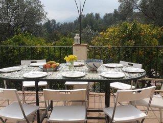 Large Private Pool, 7 Spacious Bedrooms, 5 Bathrooms (4 En-suite) Three Terraces