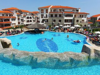 Apartment at The Vineyards Resort & Spa  Aheloy, Nessebar, Sunny Beach, Bulgaria
