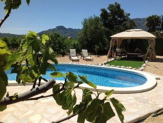 Murla Casita 3 Bed Private Pool, FREE Wifi & AirCon, Table Tennis Mountain Views